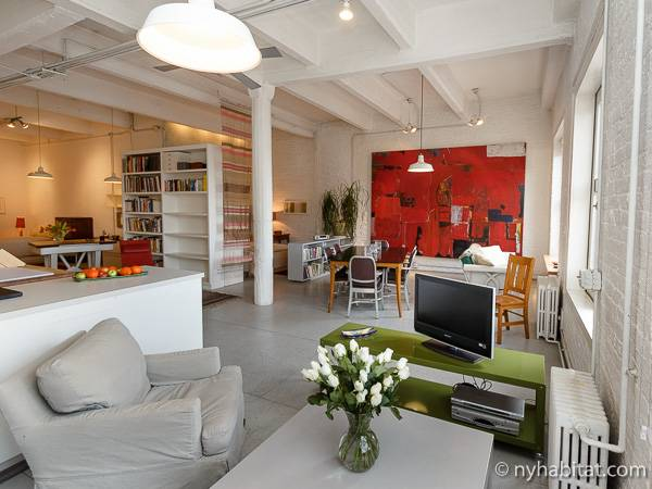 Logement New York Location Meuble Studio T1 Chelsea