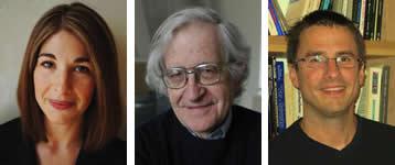 Et brev fra våre venner Naomi Klein, Noam Chomsky, og Neve Gordon