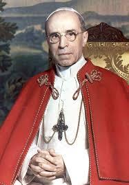 Pave Pius XII kom til makten bedende for en nazi-seier...