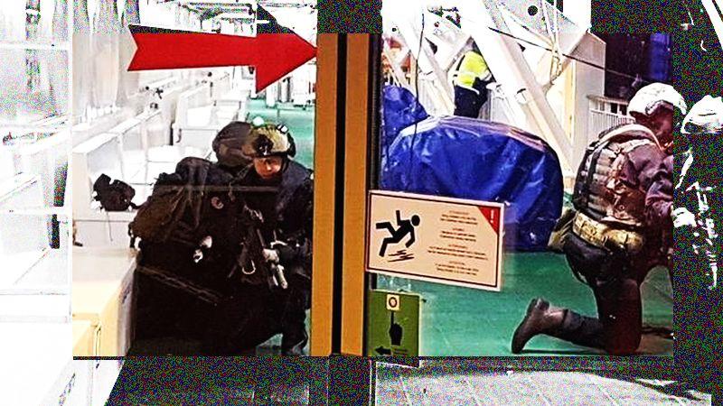 Viking-linen kapteeni varoittaa terrori-iskusta matkustajalautalle.