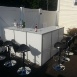 Selden Long Island Acrylic Portable Bar Rental Ny Led Furniture