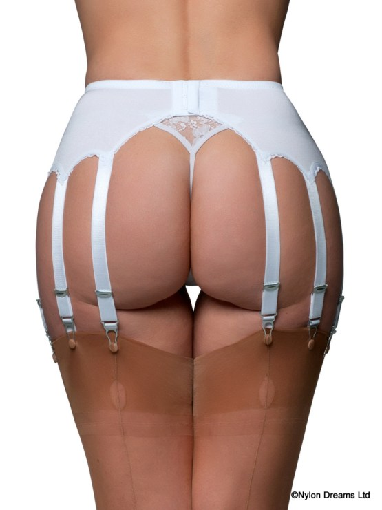 12 Strap Suspender Belt Lace