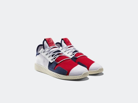 "adidas Pharrell Williams BBC HU / Launch: Saturday 20 October (in-store & E-FLASH) / Price: SGD359 (NMD Trail ""Heart/Mind""), SGD189 (Tennis HU)"