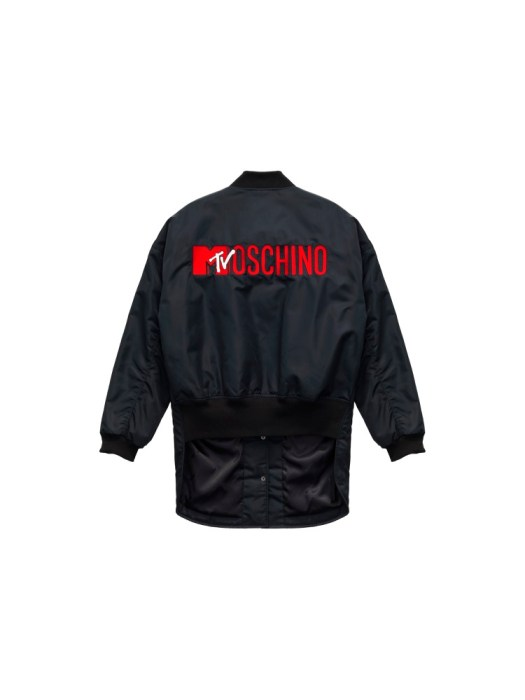 Embroidered bomber jacket (back) S$249