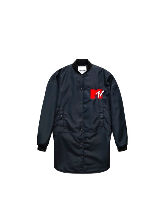 Embroidered bomber jacket (front) S$249