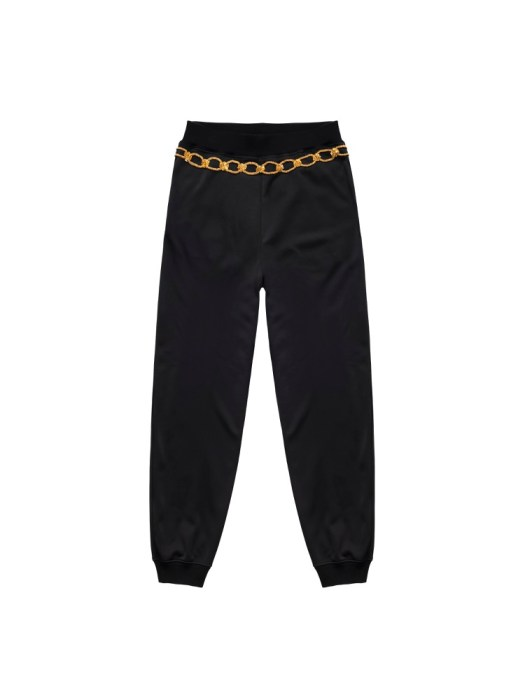 Embroidered track pants (back) S$179