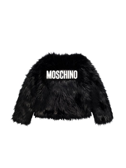 Faux fur jacket (back) S$249