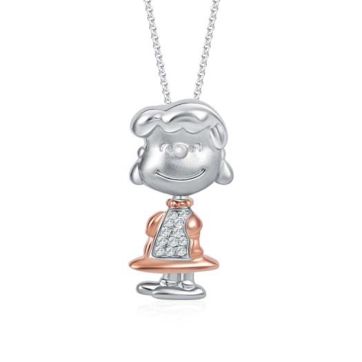 Lucy Sparkling Beauty Diamond Pendant (S$369)