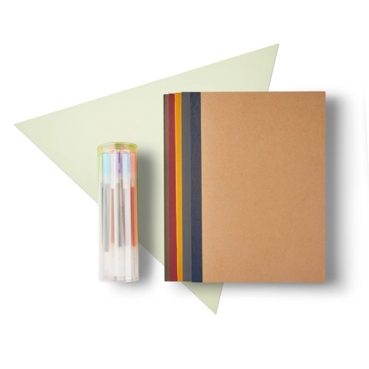 Notebook & Gel Ink Pen Set, $15.90 (U.P. $19.20)