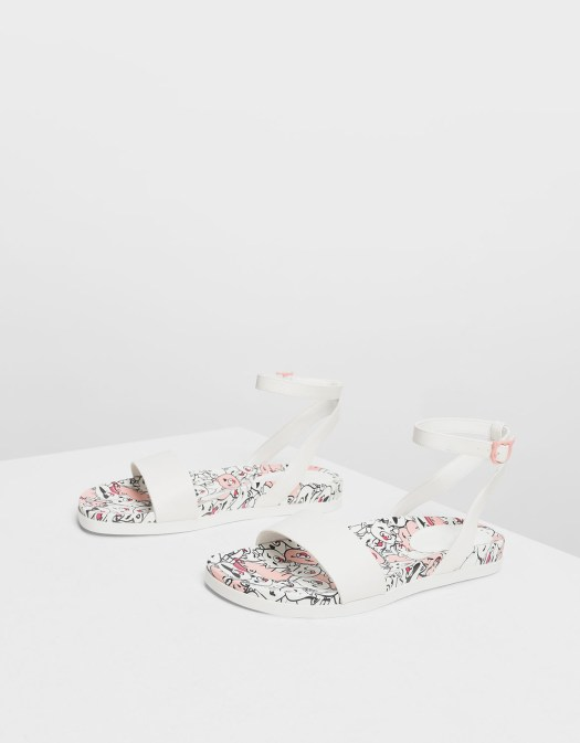 Zodiac Pig Sandals, $49.90