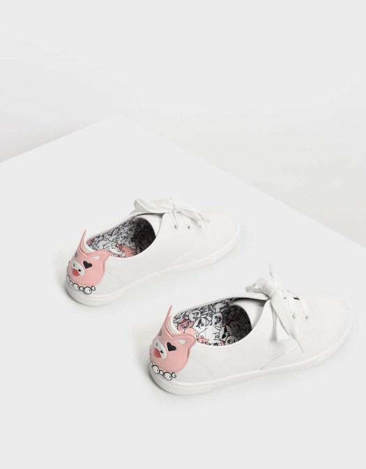Zodiac Pig Sneakers, $56.90