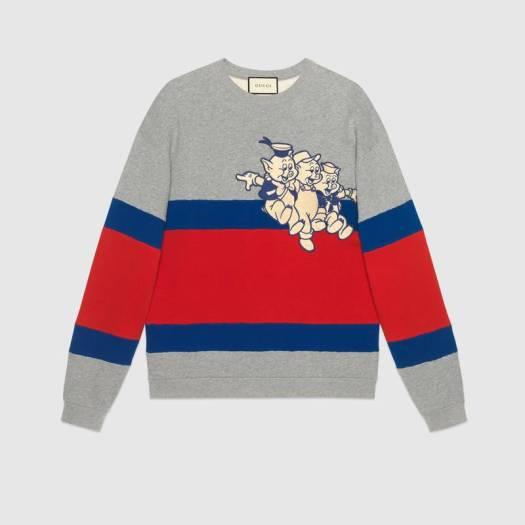 Men's sweatshirt with Three Little Pigs