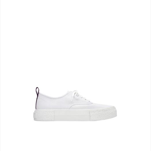 Canvas Sneaker (White), $94.95