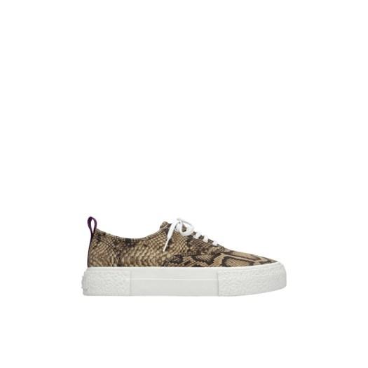 Canvas Sneaker (Snakeskin), $94.95