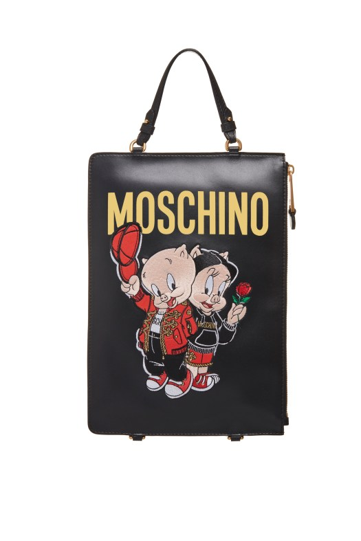 Moschino Chinese New Year Clutch Backpack, US$928