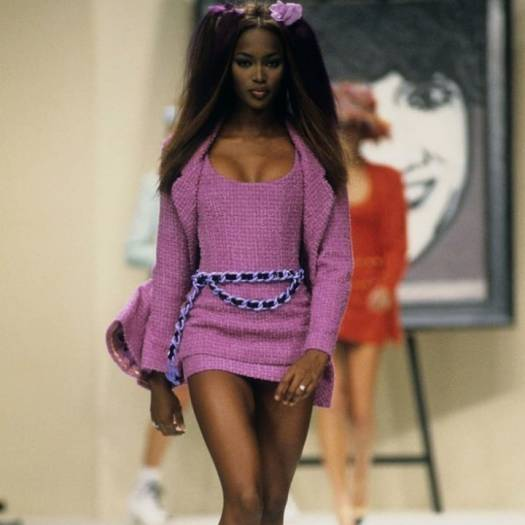 Naomi Campbell for Chanel in 1994