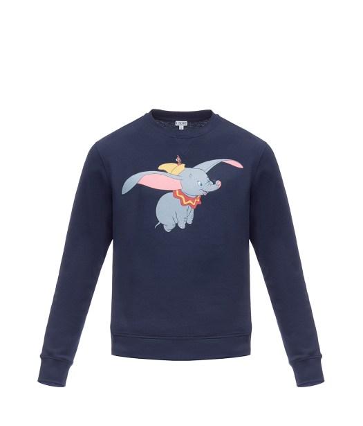 Loewe Sweatshirt Dumbo Navy Blue, HKD 4,600