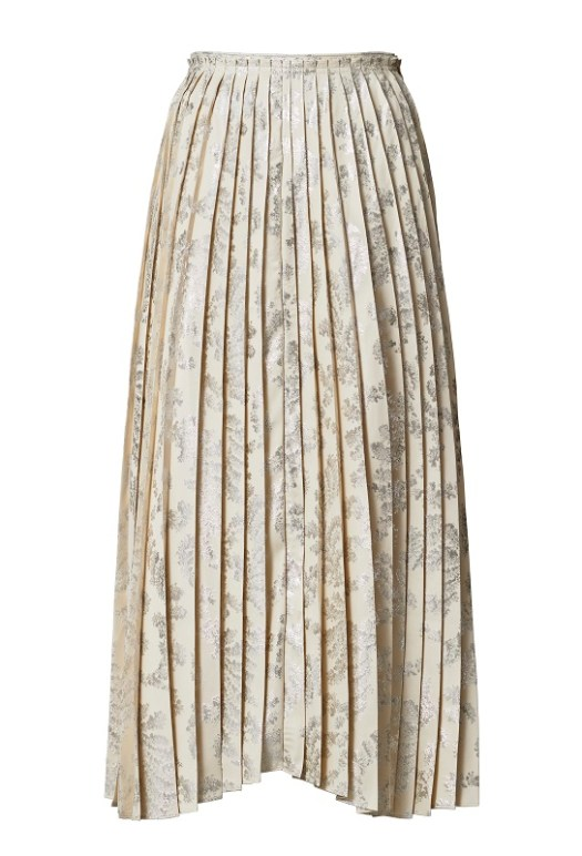 Pleated Skirt, $179