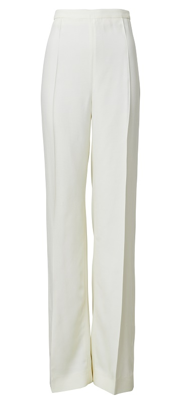 Tailored White Pants, $159