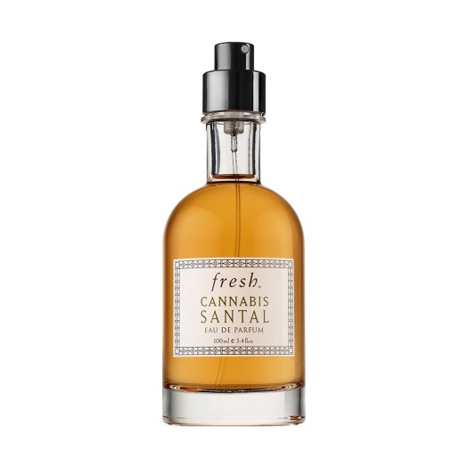 Fresh Cannabis Santal Eau De Parfum, US$50 (30ml) / US$90 (100ml): This woody fragrance has a middle note of cannabis accord, which we can only imagine smells like that neighbour in your UK hostel smoking weed. But better.