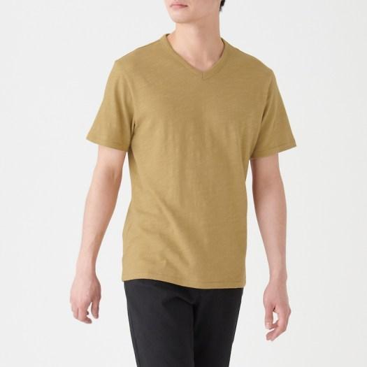 Men's Organic Cotton Uneven Yarn Short Sleeve T-Shirt, Less 10% (U.P. $19.90)