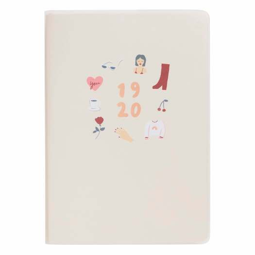 A5 Weekly Diary There She Is Nude ($39.90)