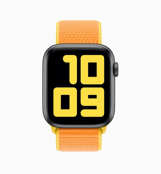 New watch faces with watchOS 6