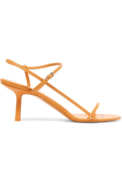 THE ROW Bare leather sandals, US$752.53