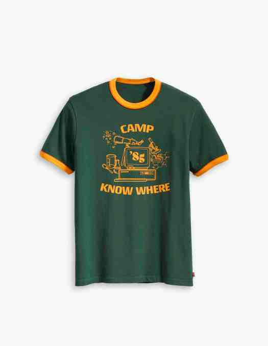 Camp No Where Ringer Tee Shirt ($49.90)