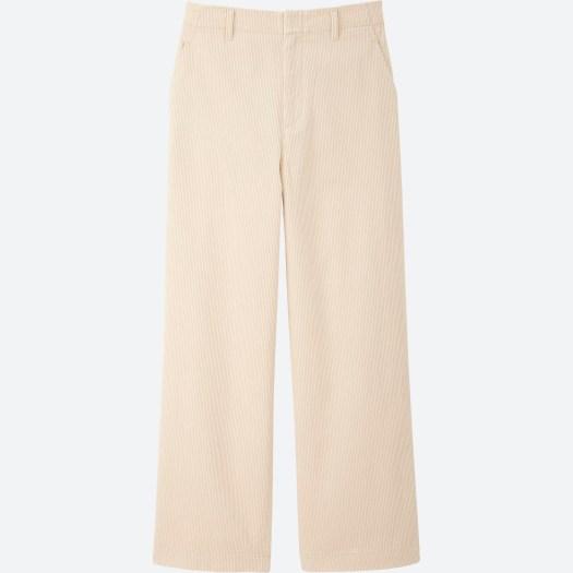 Women's Corduroy Wide Pants in 01, $49.90