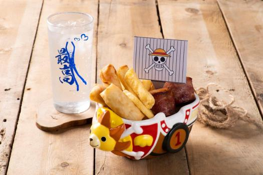 One Piece Carnival Snacks Combo