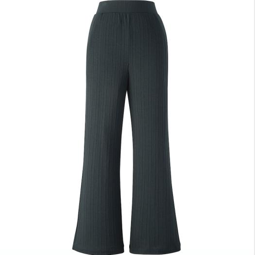 Hana Tajima Ribbed Wide Pants, $29.90