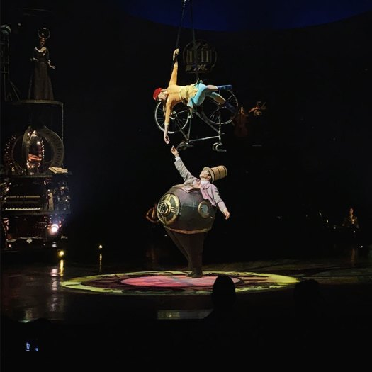 Aerial Bicycle and Mr.Microcosmos