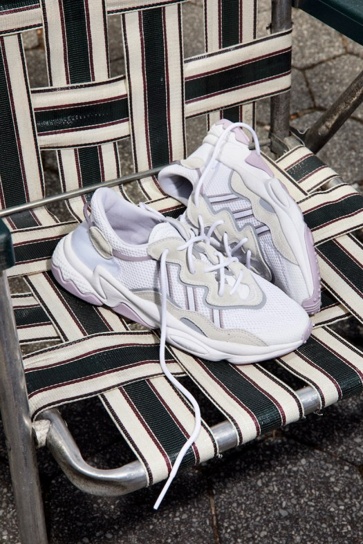 OZWEEGO Shoes. Colour: Cloud White / Grey Three / Soft Vision. $160