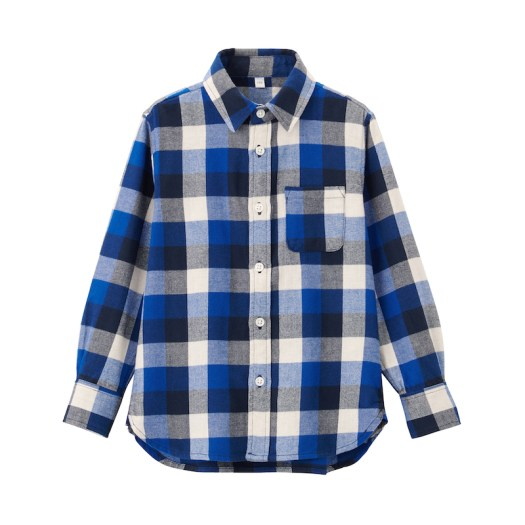 Flannel Shirt (Baby), $29. Available in 4 colours.