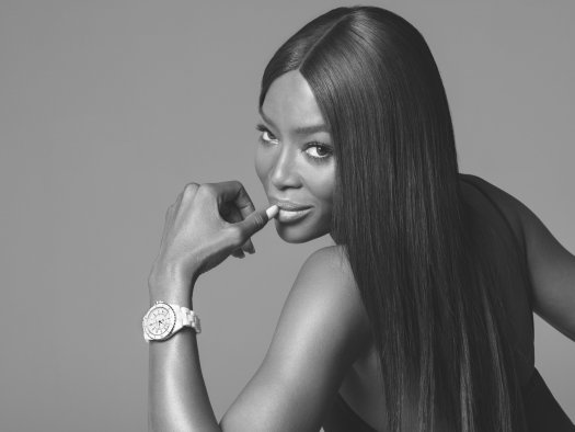 Naomi Campbell for CHANEL J12