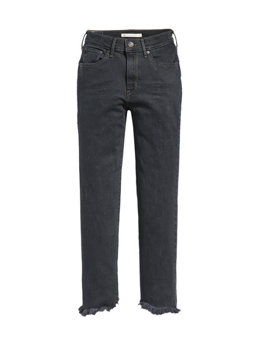 724 High Rise Straight Cropped Jeans, $119.90