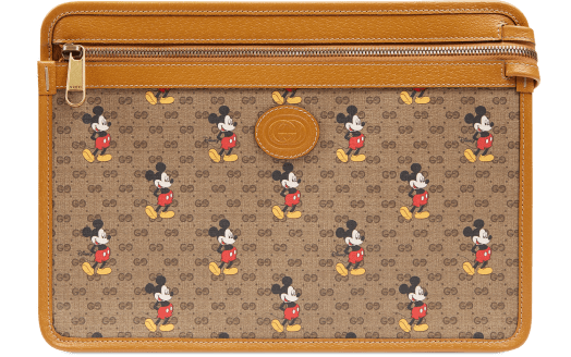 Disney x Gucci GG Canvas Pouch $1,415