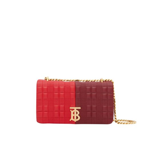 Burberry Small Quilted Colour Block Lambskin Lola Bag $2,590