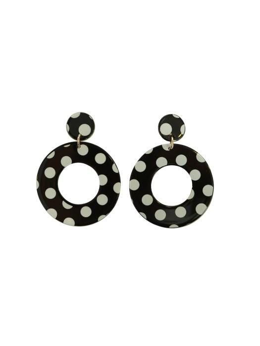 Spotted earrings, $12.95