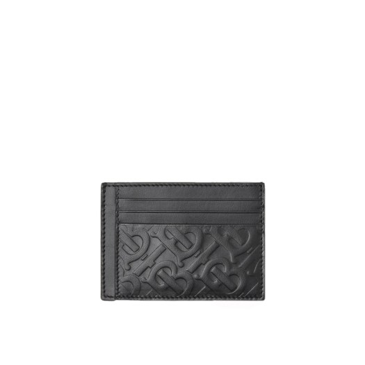 BURBERRY Monogram Leather Card Case $400