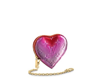 Louis Vuitton Valentine's Day Capsule Heart Coin Purse $830