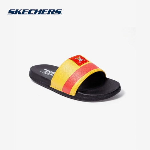 Skechers Men's x One Piece Luffy Sliders, $25