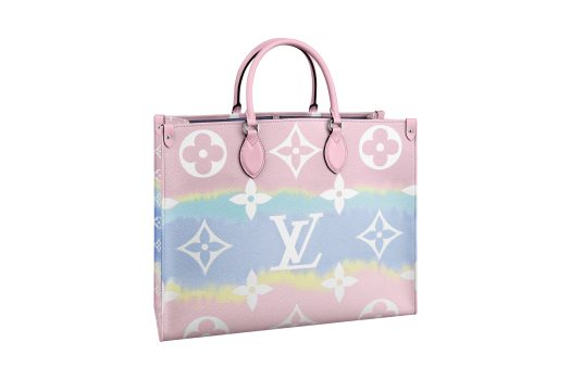 Onthego LV Escale Toile in Monogram Giant canvas Pastel, $3,800