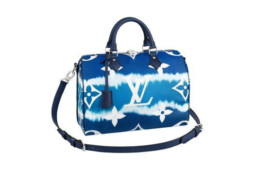 Speedy 30 Bandouliere LV Escale in Monogram Giant canvas Blue, $3,050