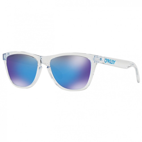 OAKLEY FROGSKINS IN BLUE IRIDIUM, $123