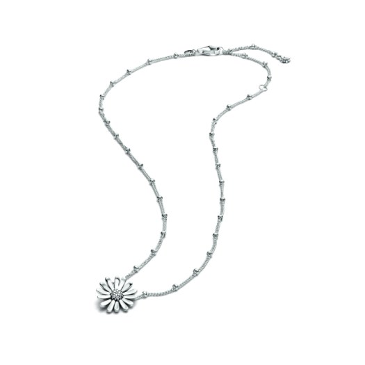 Pavé Daisy Flower Collier Necklace, $149 (Full View)