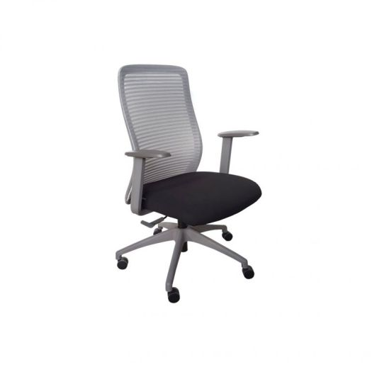 Cello Mid Back Study Chair - Grey, $228