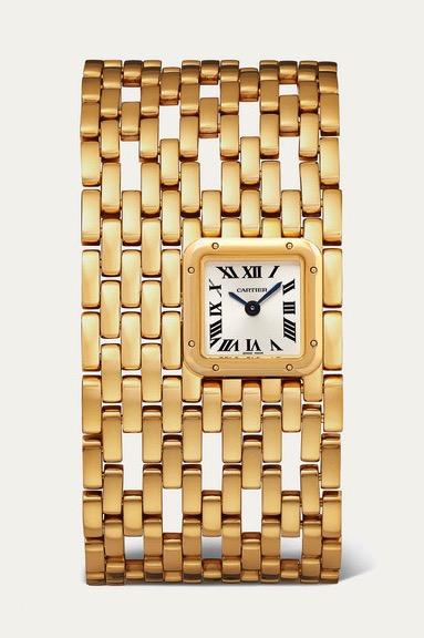 Cartier Panthère de Cartier Manchette 22mm 18-Karat Gold Watch, USD 40,435