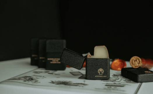 Assemble Singapore is a menswear tailoring house that also stocks lifestyle accessories and products for the modern dapper gentleman! Featured here: The Apothecary Malaysia Crackle Case Omni Solid Cologne via Assemble Singapore, $42